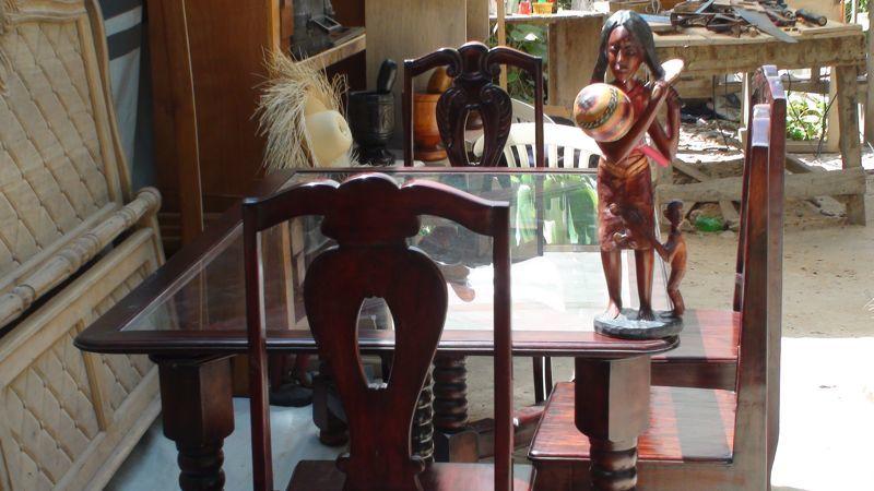 Inventaire du patrimoine immat riel d ha ti for Meuble casami haiti