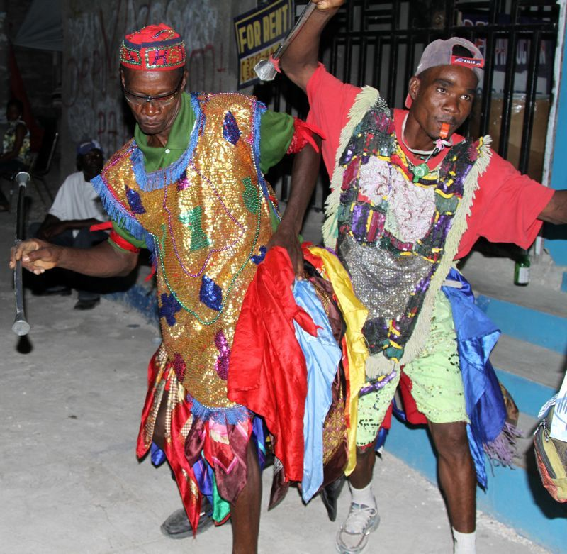 rituel vaudou haïtien